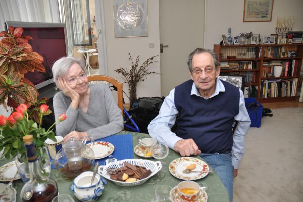 Juri and his wife Kira