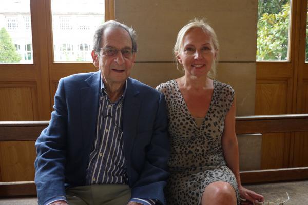 In Juri's Pariser Gymnasium: Lycee Janson de Sailly in rue de la Pompe (mit Natalia Kuznyetsova)